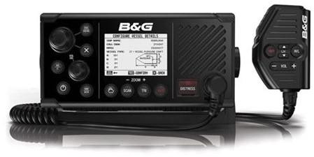 B&G V60-B Marifoon Ais transponder  VHF DSC AIS RX-TX