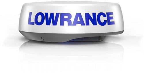 Lowrance HALO24 pulse compressie Radar met 60 RPM
