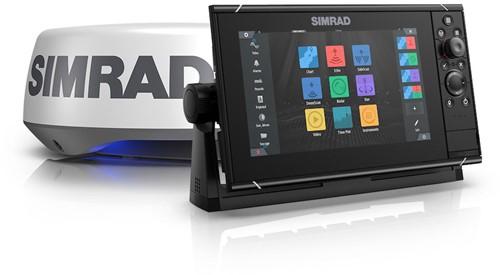 Simrad NSS12 evo3S Kaartplotter + Halo20+ Radar Set
