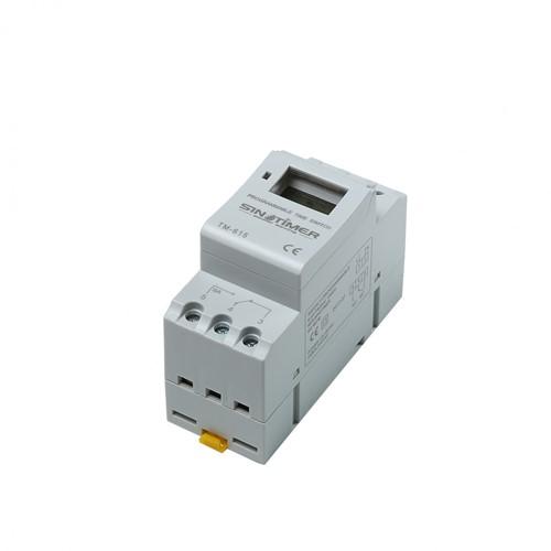 Tijdklok 230V~ met interne back-up