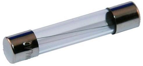 Glaszekering 32 x 6 mm/  2 Amp