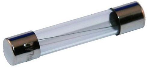 Glaszekering 32 x 6 mm/15 Amp