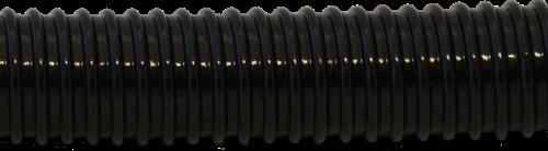 Delphinus PVC spiraalslang zwart