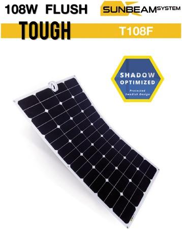 Sunbeam Tough 108W Flush Flexibel zonnepaneel