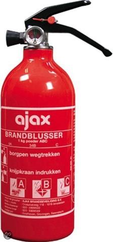 Brandblusser 1kg ABC/MM AJAX