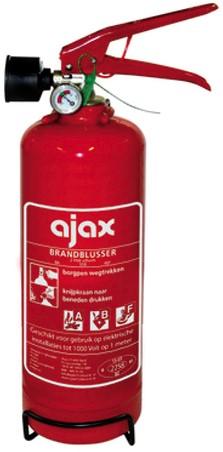 Ajax ABF brandblussers -  2kg  schuim - vorstvrij
