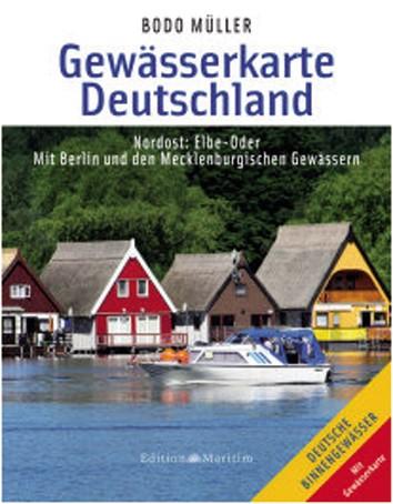 Kaart Duitsland 'Nordost'