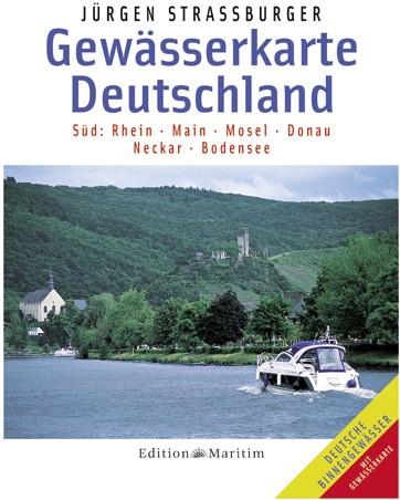Kaart Duitsland 'Zud'