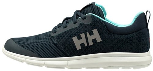 HELLY HANSEN W FEATHERING DAMES BOOTSCHOEN 597 NAVY  /GLACIER BLUE / OFF