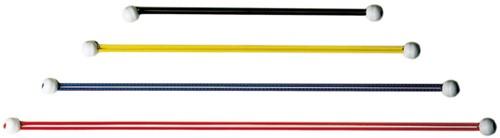 Zeilbinders 30 cm zwart elastiek