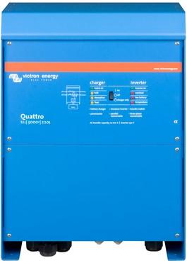 Victron Quattro 12/5000/220-100/100 lader omvormer