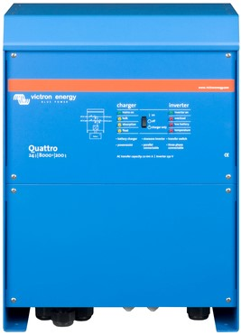 Victron Quattro 24/8000/200-100/100 lader omvormer