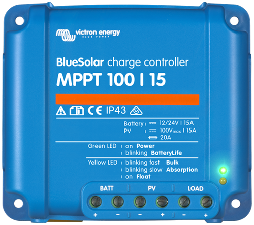 Victron BlueSolar MPPT 100/15A Laadregelaar