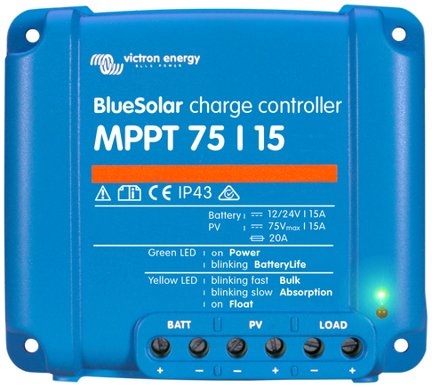 Victron BlueSolar MPPT 75/15A Laadregelaar