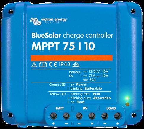 Victron BlueSolar MPPT 75/10A Laadregelaar