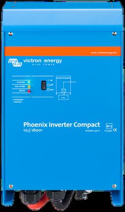 Victron Phoenix compact omvormer 12/1600