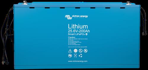 Victron smart lithium accu 25,6V/200Ah LiFePO4