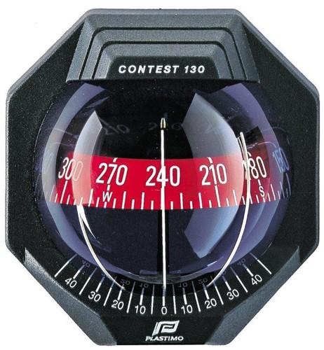 Contest 130 zwart, hellend schot
