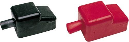 Accupool kap rood/zwart