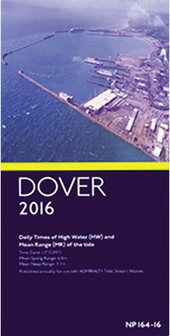 Getijtafel Dover 2020