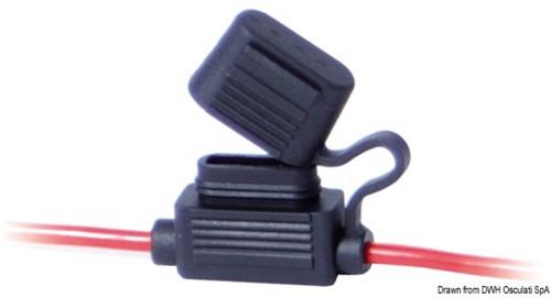 Zekeringhouder in-line 2.5mm2