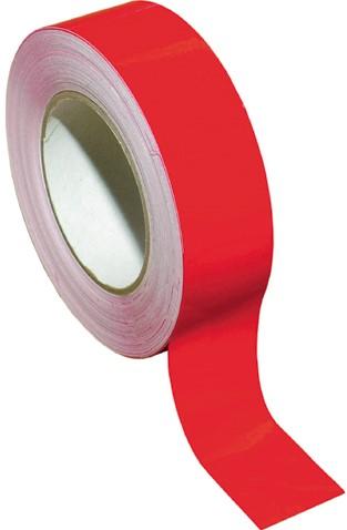 Waterlijn tape 20 mm x 10 m rood