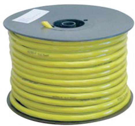 Walstroom PU 3x2.5mm geel
