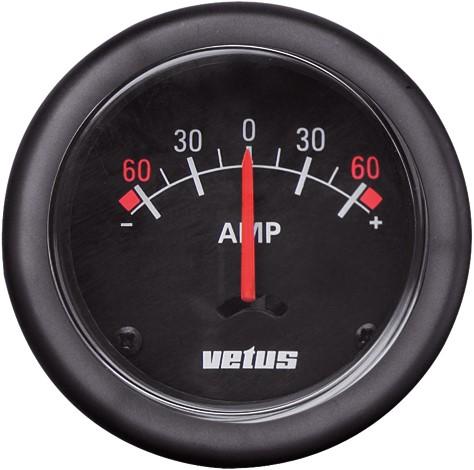 Amperemeter 12/12V 60A Vetus