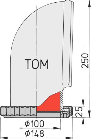 Vetus luchthapper TOM 2