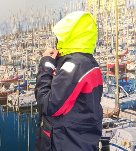 GK Coastal ademend zeilpak navy XS