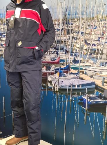 GK Coastal ademend zeilpak navy M