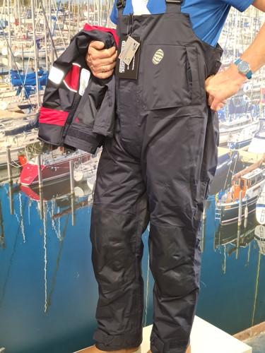 GK Coastal ademend zeilpak navy L