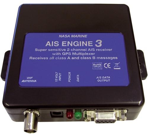 Nasa Ais (Engine 3) ontvanger voor doorsturen naar PC - BNC aansluiting - NMEA0183 - NMEA2000