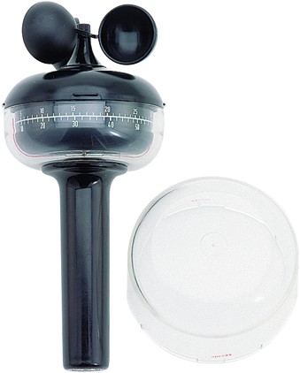 Deuta Anemo hand windmeter - Indicatie: Bft 0-12,0, 0-120 km/hr, 0-35 m/s, 0-7 kts
