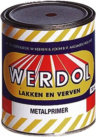 Werdol Metalprimer 0.75 liter wit