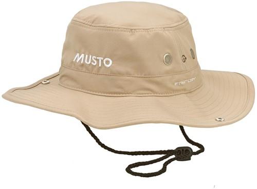 80033 Evo UV Fd Brimmed Hat Stone M