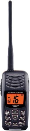 Standard Horizon HX-300E Handmarifoon - USB oplaadbaar