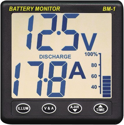 Nasa Battery monitor BM-1 12 V