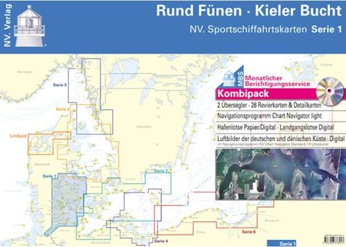 Deense NV Atlas Serie 1 Rund Fünen