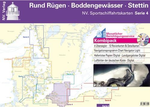 Deense NV. Atlas Serie 4 Rund Rügen