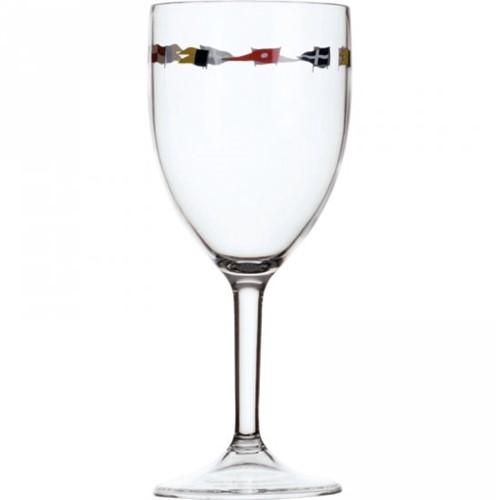 12104- MB Regata Wijnglas steel