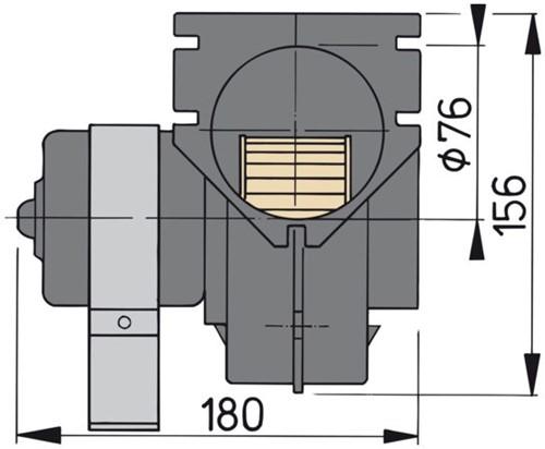 Afzuigventilator 24V Vetus