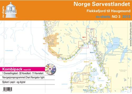 NV. Atlas NO3 Noorse Zuidkust Oost