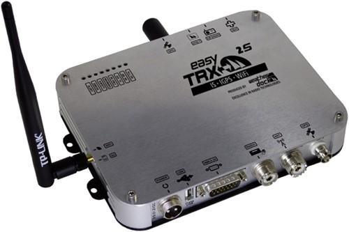 EasyTRX2-S-IS, iGPS,Wifi 2e generatie Class B AIS Transponder met interne GPS en antennesplitter