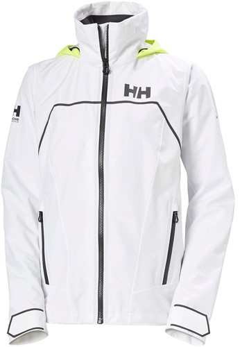 HELLY HANSEN DAMES FOIL LIGHT JACKET WHITE