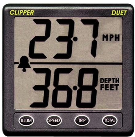 Nasa Clipper Duet log/diepte
