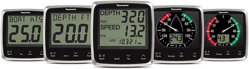 i50 & i60 Wind, Snelheid & Diepte