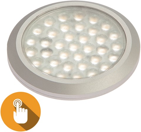 DL01 Touch dim 10-30VDC 2.4/20W WW Met touch dimmer