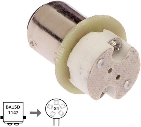 Adaptor Ba15D to G4