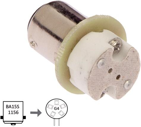Adaptor Ba15S to G4
